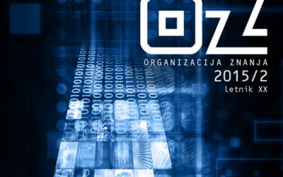 Pregled najpomembnejših novosti v sistemu COBISS (april–september 2015)