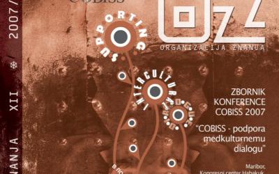 Kratka predstavitev novega vmesnika COBISS3/Katalogizacija